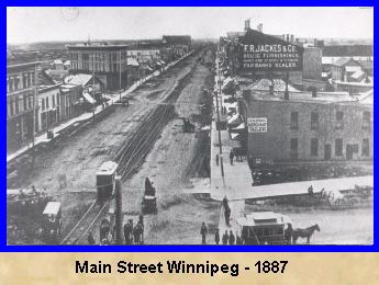 Winnipeg in 1887